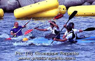 Kayaking Polo Shirt X-Large  Eddyline Swift Paddles Black